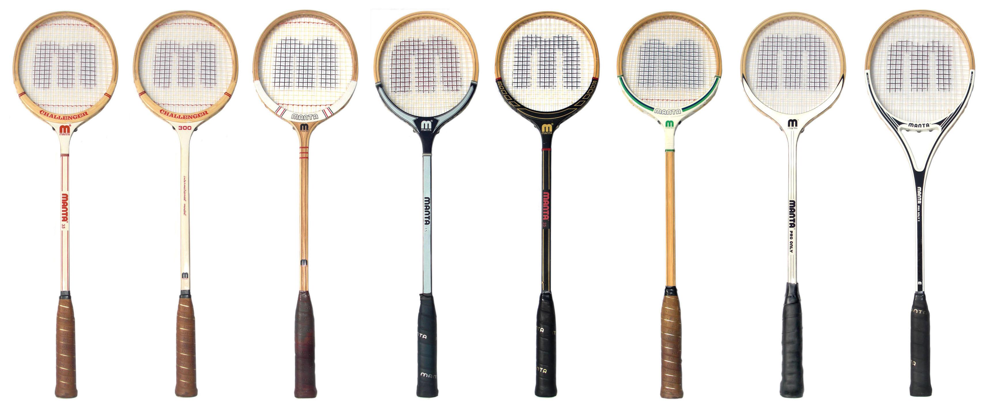 Wooden Squash Racquets